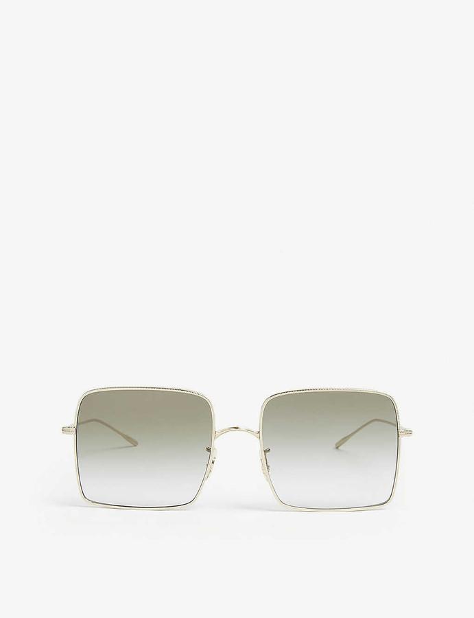 Oliver Peoples Rassine square-frame sunglasses