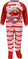 Sesame Street Elmo Christmas Blanket Sleeper Pajamas for girls