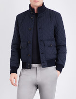 Ralph Lauren Purple Label Quilted shell bomber jacket