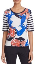 Basler Mixed-Print Top
