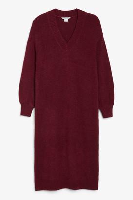 Monki Knitted sweater dress
