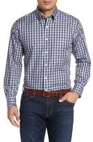 Peter Millar Men's Dusk Plaid Sport Shirt