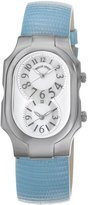 Philip Stein Teslar Women's 2-NFMOP-ZBL Signature Leather Strap Dial Watch