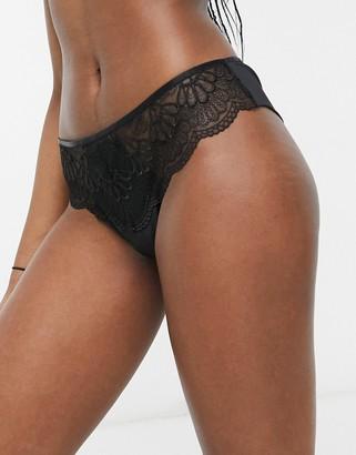 Berlei beauty style brazilian brief in black