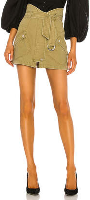 Marissa Webb Brooke Heavy Canvas Mini Skirt