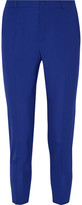 Lanvin Cropped Wool Skinny Pants - Royal blue
