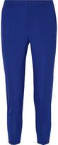 Lanvin Cropped Wool Skinny Pants - Royal blue