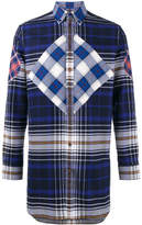 Givenchy oversized check shirt