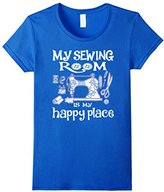 Women's My sewing room is my happy place - Sewing Machine Day Large