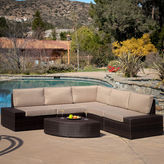 JCPenney Santa Cruz 6-pc. Outdoor Wicker Sectional