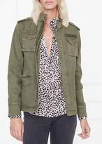 Anine Bing Army Jacket In Green