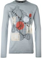 DSQUARED2 anatomy print T-shirt