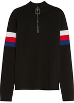 J.W.Anderson Striped Wool Sweater - Black