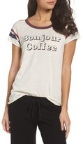 Chaser Women's Bonjour Coffee Lounge Tee