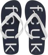 French Connection Mens Costa Flip Flops Navy/White