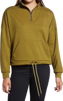 Vero Moda Charlie Quarter Zip Sweatshirt