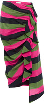 Isa Arfen Tropical Rave Ruched Skirt
