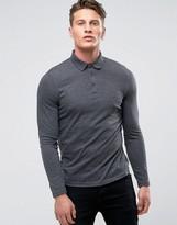 Asos Long Sleeve Jersey Polo