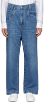 Wheir Bobson Blue Big Details Jeans