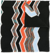 M Missoni zigzag intarsia scarf