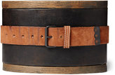 Ralph Lauren Boondocker Roughout Suede Belt