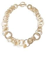 St. John Women's Hammered Link Necklace