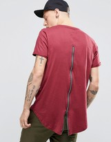 Sixth June T-shirt With Zip Back