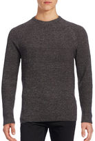 Ben Sherman The Mouline Ribbed Crew Neck Sweater