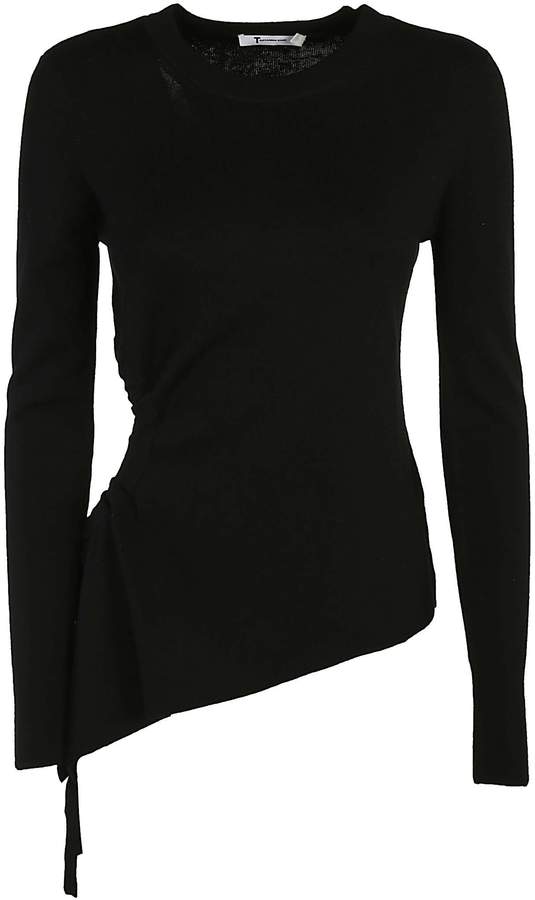 Alexander Wang Ruched Cutout Sweater