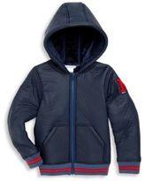 Little Marc Jacobs Little Boy's & Boy's Hooded Varsity Jacket