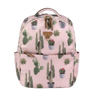 TWELVElittle On-The-Go Backpack Diaper Bag, Cactus Print