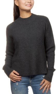 Hippie Rose Juniors' Super-Soft Mock-Neck Sweater