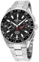 Alpina Alpiner AL860B5AQ6B Black Dial Stainless Steel 44mm Mens Watch