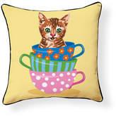 Teacup Kitten Pillow