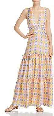 Paper London Zoe Silk Maxi Dress
