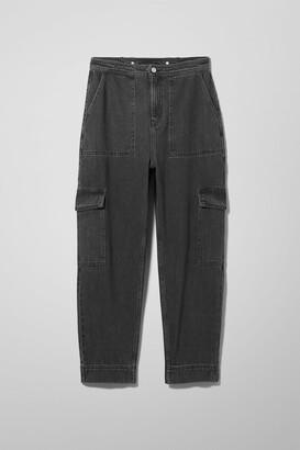 Weekday Colt Echo Black Jeans - Black