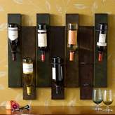 Southern enterprises Wildrose 7-Bottle Wall-Mount Wine Rack