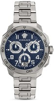 Versace Stainless Steel and Titanium Dylos Chronograph, 44mm