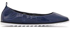 DKNY Vivi Faux Patent-leather Ballet Flats