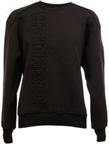 Juun.J 'Genderless' appliqué sweatshirt