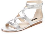 Ava & Aiden Mod Leather Gladiator Sandal