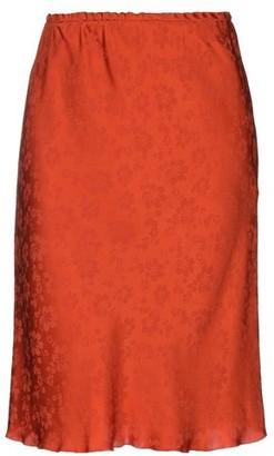 ALEXACHUNG Knee length skirt