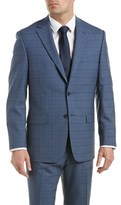 Austin Reed Classic Fit Wool Suit With Flat Pant.