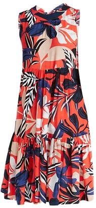Nic+Zoe Tahiti Tiered Dress