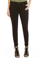 7 For All Mankind Rolled Skinny Cropped Jeans