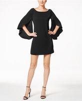 Jessica Simpson Bow-Back Flutter-Sleeve Dress