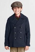 Lands' End Boys' Wool Pea Coat