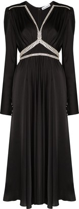 Paco Rabanne Dimante Embellished Gown