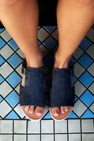 Faryl Robin + Free People Womens OASIS WOOD SLIP ON SANDAL