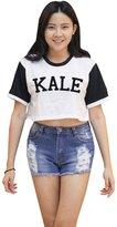 Me Women's KALE Crop T-shirt